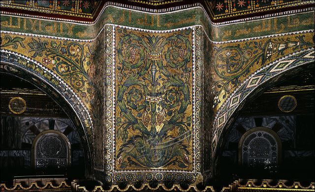 Is islamic culture a devoid of creativity? : exmuslim Dome Of The Rock Interior Mosaic